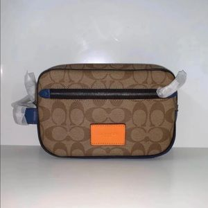 Coach Overnight/Makeup Kit Bag NEW